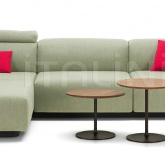 Soft Modular Sofa Three-seater, Chaise Longue