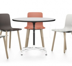 Eames Contract Table, HAL Wood