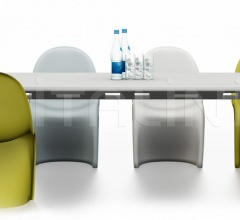 Joyn Conference Bench 320 x 120 cm, Panton Chair