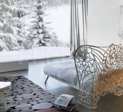 letto ferro traforato design