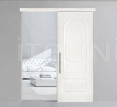 Porta plana con cover LP11 bianco