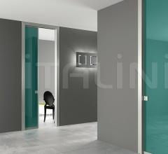 Porta inside Free Unik vetro verde