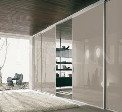 Porta plana soffitto free medium vetro canapa