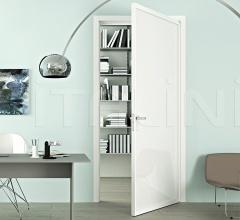 Porta simple bianco free luxor vetro bianco