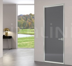 Porta simple light free luxor vetro antracite