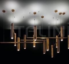 Подвесной светильник Tubular Horizontal фабрика Henge
