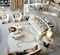 Трехместный диван INFINITY 6052 фабрика Bizzotto