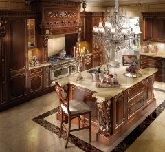 Итальянские кухни с островом - Кухня PARIS фабрика Francesco Molon