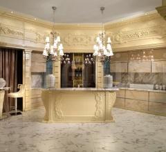 Итальянские кухни с барной стойкой - Кухня MARTIKA фабрика Francesco Molon