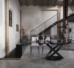 Стол обеденный FUSION фабрика Bontempi Casa