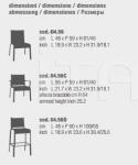 Барный стул NET Bontempi Casa