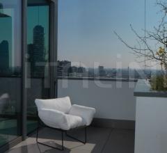 Кресло elisa outdoor фабрика Driade