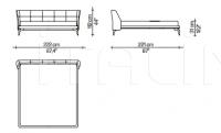 Кровать LEEON Driade
