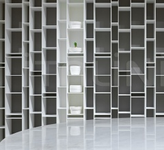 Книжный стеллаж RANDOM 2C - 3C фабрика Mdf Italia