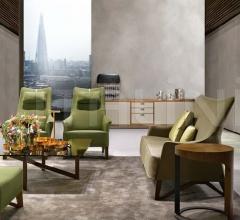 Двухместный диван MOBIUS 63943 фабрика Giorgetti