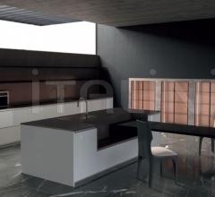 Итальянские кухни с островом - Кухня GK.01 фабрика Giorgetti
