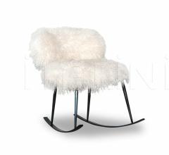 Итальянские кресла - Кресло-качалка ROCKING NEPAL фабрика Baxter