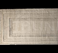 Итальянские ковры - Ковер BERBERE NATURAL + BLACK | PATTERN B фабрика Baxter