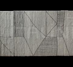 Итальянские ковры - Ковер BERBÈRE LIGHT GREY + DARK BROWN | PATTERN A фабрика Baxter