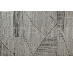 Итальянские ковры - Ковер BERBERE T LIGHT GREY + BROWN | PATTERN A фабрика Baxter