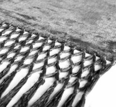 Итальянские ковры - Ковер FRINGES GREY + CHARCOAL фабрика Baxter