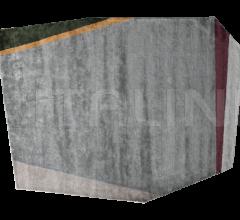 Итальянские ковры - Ковер LIBRA DARK GREY | GREEN фабрика Baxter