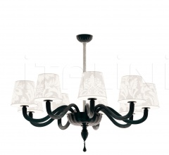 Garbo 9-Arm LED Chandelier Basso