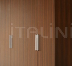 Итальянские шкафы гардеробные - Шкаф Wood фабрика Flou