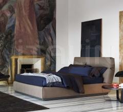 Итальянские спальни - Кровать Gentleman фабрика Flou