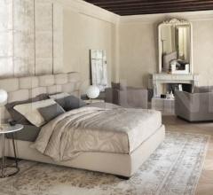 Итальянские кровати - Кровать Majal фабрика Flou