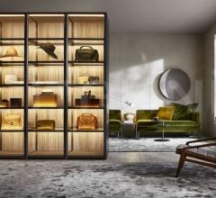 Итальянские шкафы гардеробные - Гардероб GLISS MASTER-GLASS фабрика Molteni & C