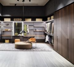 Итальянские шкафы гардеробные - Шкаф GLISS MASTER-NICHE фабрика Molteni & C