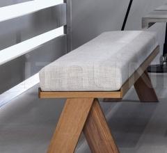 Итальянские скамейки - Скамья JOI фабрика Meridiani