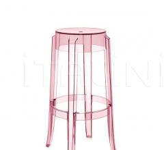 Итальянские барные стулья - Барный табурет Charles Ghost фабрика Kartell