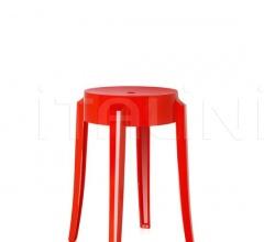 Итальянские уличные стулья - Табурет Charles Ghost фабрика Kartell