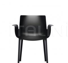 Итальянские стулья, табуреты - Стул с подлокотниками PIUMA фабрика Kartell