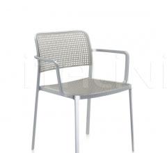 Итальянские уличные стулья - Стул с подлокотниками Audrey фабрика Kartell