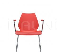 Итальянские стулья, табуреты - Стул с подлокотниками Maui фабрика Kartell