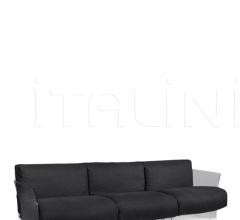 Трехместный диван Pop Linen фабрика Kartell