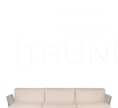 Трехместный диван Pop Cotton & Trevira фабрика Kartell