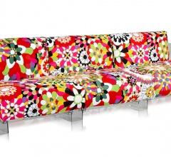 Трехместный диван Pop Missoni фабрика Kartell