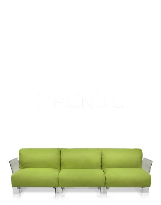 Трехместный диван Pop Outdoor Kartell