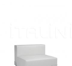 Модульный диван Plastics фабрика Kartell