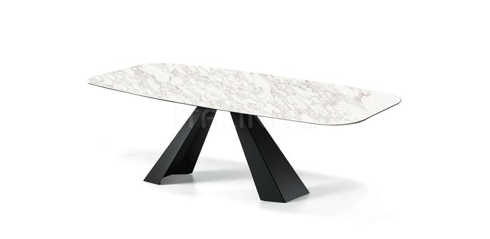 Стол обеденный Eliot Keramik Cattelan Italia