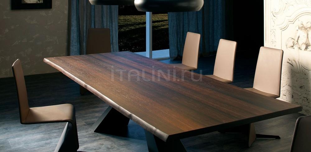 Стол обеденный Eliot Wood Cattelan Italia