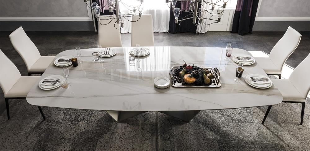 Стол обеденный Skorpio Keramik Cattelan Italia