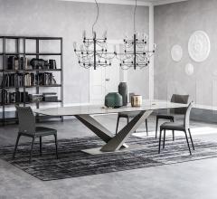 Стол обеденный Stratos Keramik фабрика Cattelan Italia
