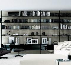Книжный стеллаж Zenit фабрика Rimadesio