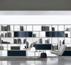 Книжный стеллаж Opus фабрика Rimadesio