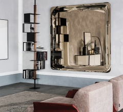 Настенное зеркало Glenn Magnum фабрика Cattelan Italia